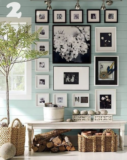 Wall Photo Frames Collage diy art/photo wall collages & endless inspiration - picklee