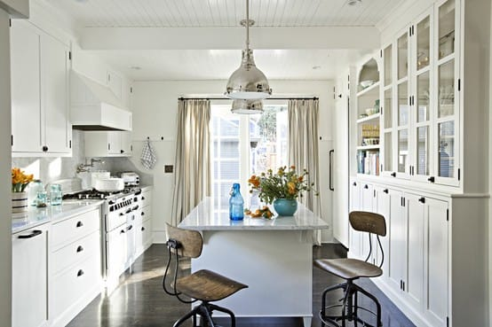 Simple White Kitchen 22 white kitchens that rock - picklee